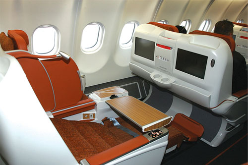 Most modern russian aircraft - Aeroflot Airlines Business Class Lets Fly Cheaper