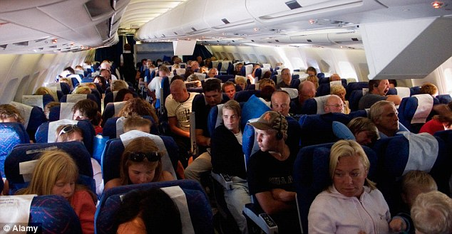 crowded flight Data Shows Fuller Flights in 2012 for U.S Airlines, According to Lets Fly Cheaper.com