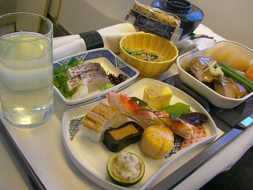 Photo by jetalone / Japan Airlines meal
