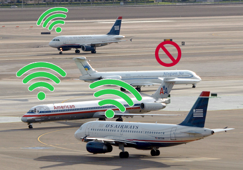 Us airlines to start offering internet access on for Southwest airlines free wifi