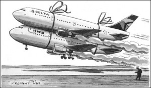 airline merger 300x174 Merger Mania, a History of Airline Mergers in the U.S