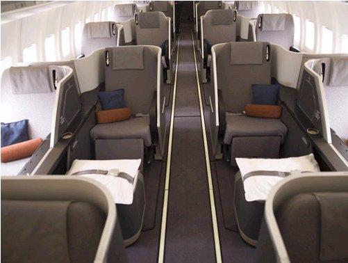 Iberia business class-