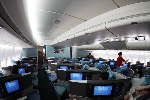 Cathay Business Class