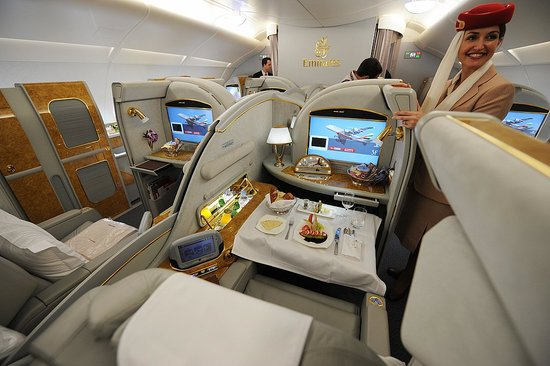 Emirates Business Class-