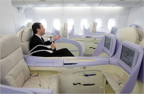 Lufthansa Business Class-