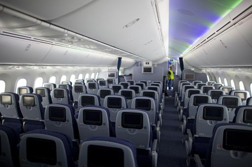 United airlines announces their new 787 dreamliner routes for Interior 787 air europa