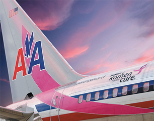 U S Airlines Do Their Part To Promote Breast Cancer