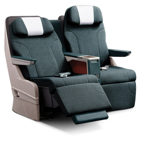 The Angled Lie-Flat Seat u2013 These seats were made for those medium to long distance flights. The design has many variations but all in all it reclines to a ...  sc 1 st  Lets Fly Cheaper & The Business Class Seat Layout Guide islam-shia.org