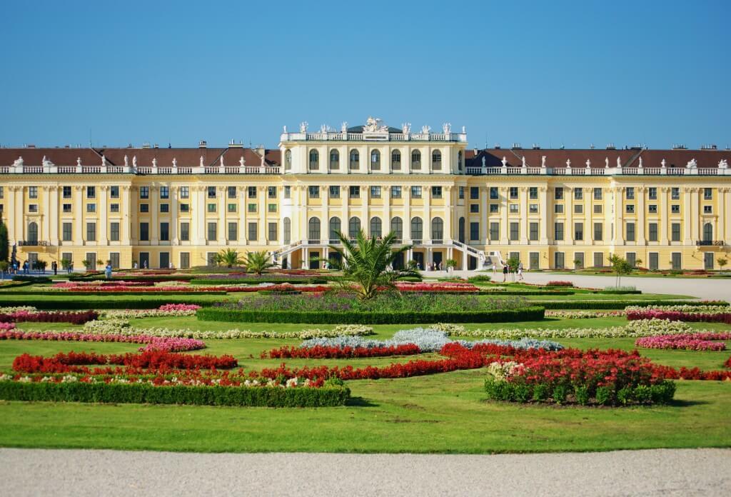 Schoenbrunn Palace,Vienna.