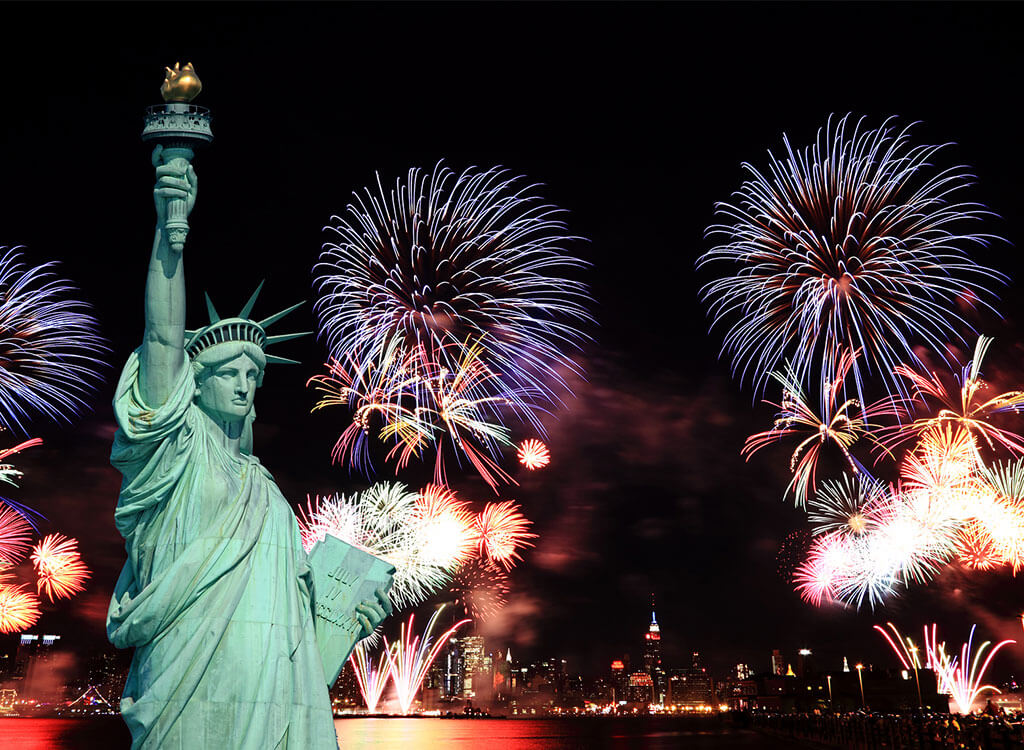 New Years Fireworks Nyc