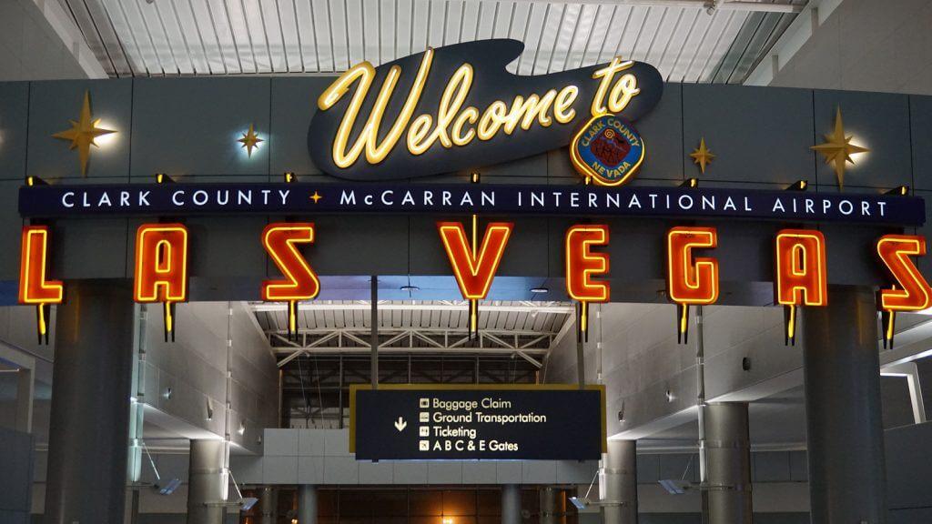 McCarran International Airport in Las Vegas