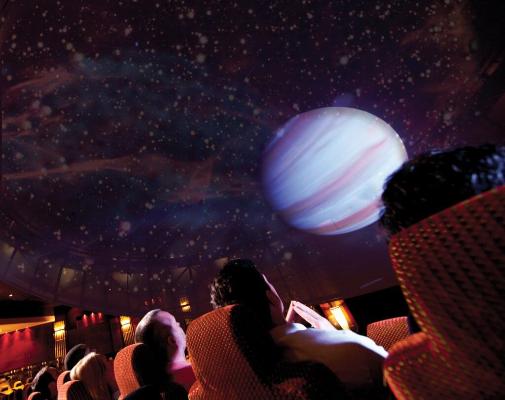 planetarium on the Queen Mary 2