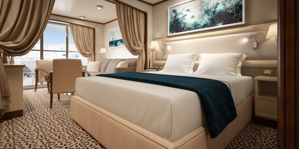 Silversea Silver Cloud Expedition room